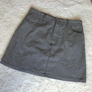 NWOT Forever 21 Plaid Mini Skirt